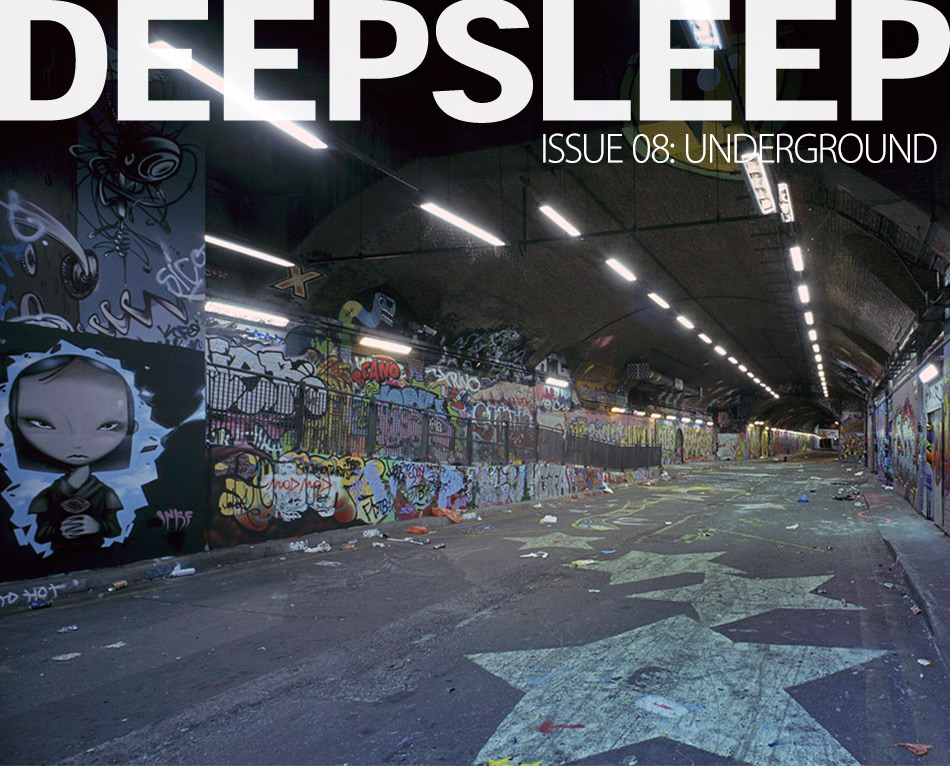 Deep Sleep photography magazine. Issue 8: Underground